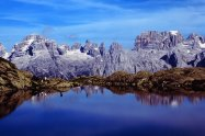 Lake Ritorto in Brenta Dolomites